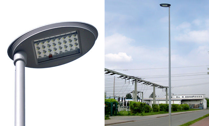 A 0.01 - Model Group LED Street Lights - Series Silver Ellipse 01