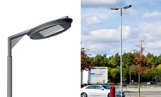 A 0.02 - Model Group LED Street Lights - Series Silver Ellipse 02