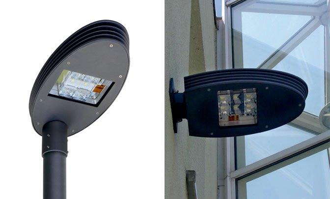 A 0.04 - Model Group LED Street Lights - Series Silver Ellipse 40
