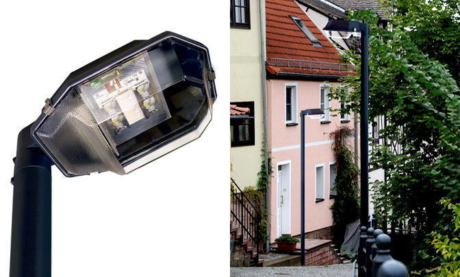 A 0.08 - Model Group LED Street Lights - Series RLX (Case Luminares)