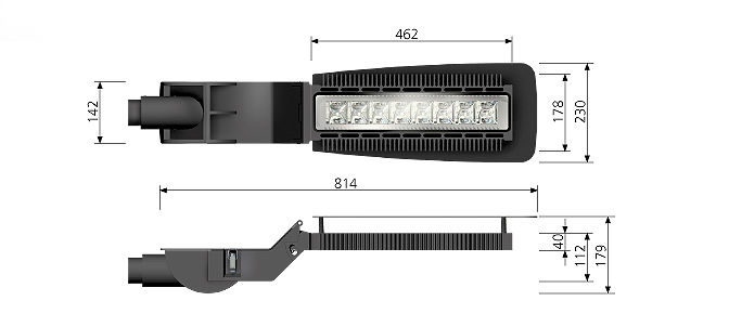 A 0.13 - LED Street Lights - Series Golf 2