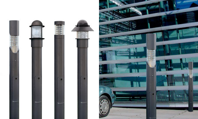 A 11.01 - Modell Group Light Bollards - Series Thin Light Bollards