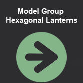 A 8.00 Model Group Hexagonal Lanterns