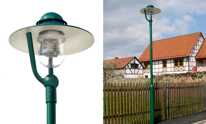 A 9.02 - Model Group Standard Pole Top Luminare - Series Freiberg III