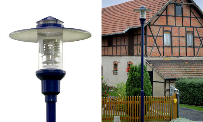 A 9.03 - Model Group Standard Pole Top Luminare - Series Briesen II.I