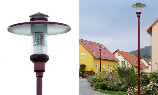 A 9.05 - Model Group Standard Pole Top Luminare - Series Freiberg II