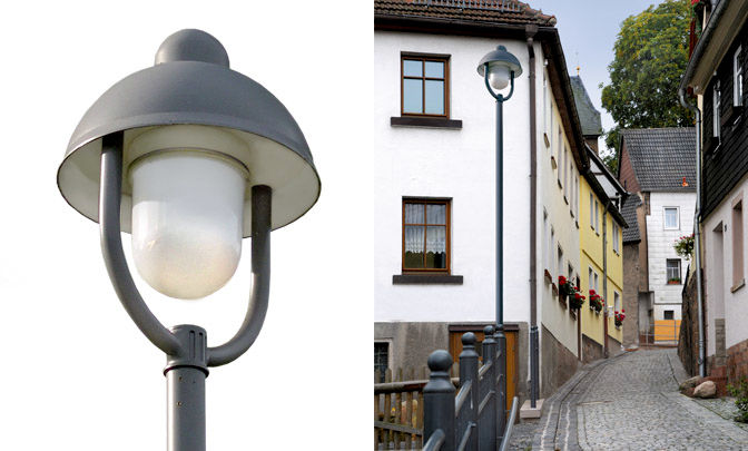 A 9.07 - Model Group Standard Pole Top Luminare - Series Zechau