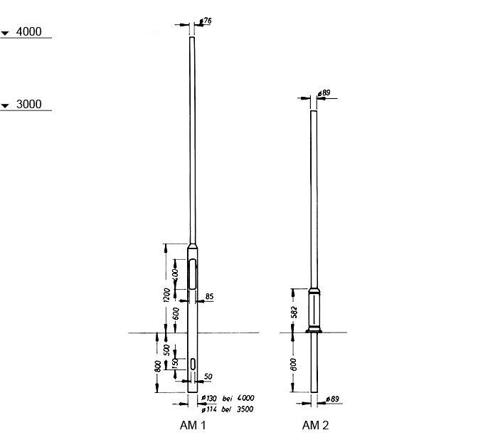 Series Aluminium Poles 2k Moxa Lighting Gmbh