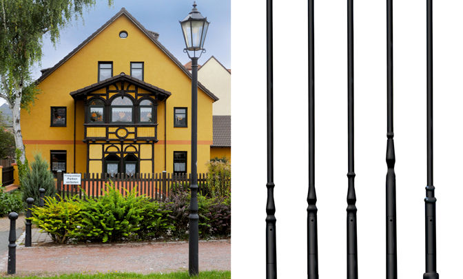 B 01.05 Modell Group Lighting Poles - Series Formed Aluminium Poles