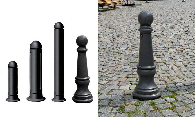 C 1.01 - Die Cast Bollards