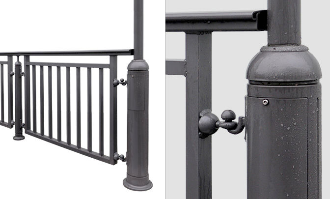 C 4.01 - Light Metal Railings Saalfed