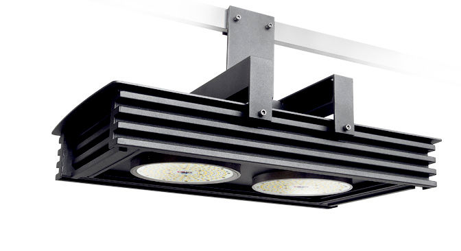 I 0.02 Model Group Industrial Lights - Knauf Hall Spotlights 2
