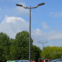 "LED Street Lights, Series Gof 2 at ""See- und Waldresort Gröbern""…"
