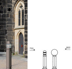 Model Overview - Series Die Cast Light Bollards