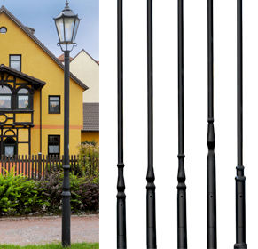 Model Overview - Series Formed aluminium poles