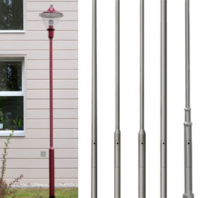 Model Overview - Series Steel Pole