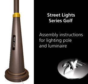 Overview - Assembly Instructions Lighting Pole Series Golf