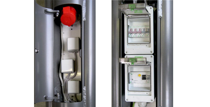 Series Aue With Electric Supply - Switch Box